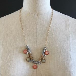 Stacked Ring Necklace